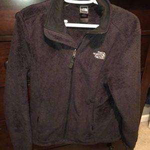 Jackets & Blazers - Black fuzzy North Face